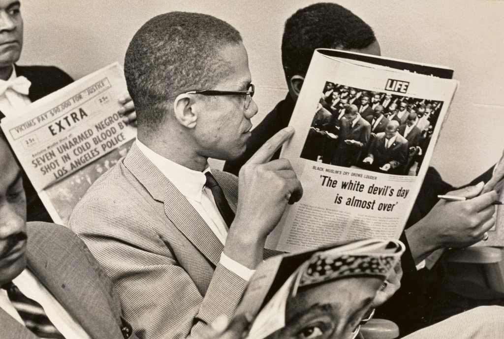thesis statement on malcolm x